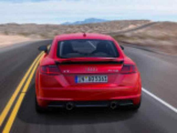 Coupe Audi TT 2018-2019 feed