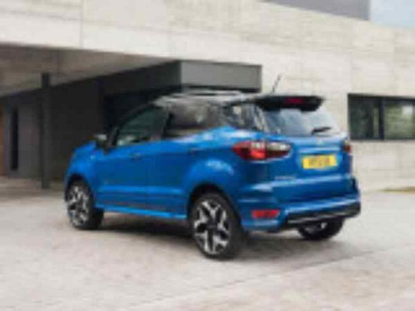Fourrage Ford Ecosport Restyling Photo