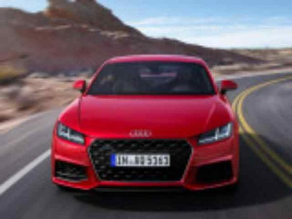 Photo coupe Audi TT 2018-2019 vue de face