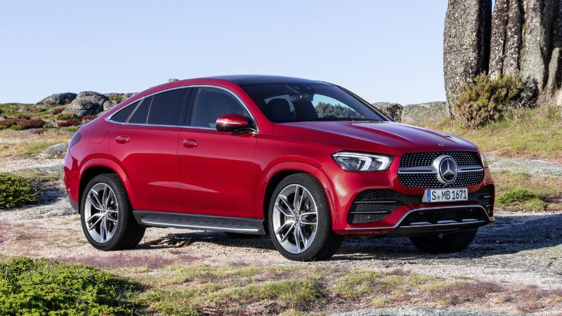 Mercedes GLE Coupe 2021